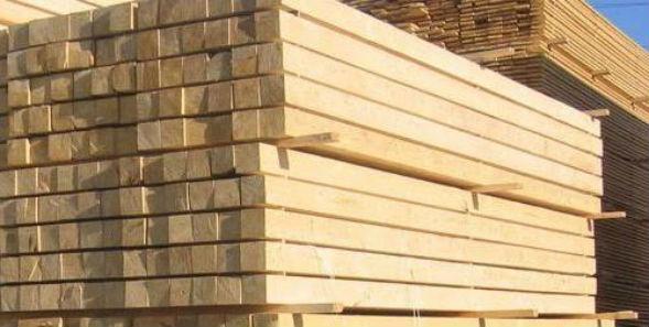 Цельный непрофилированный брус для строительства дома из сруба