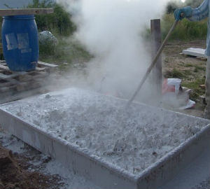 В'яжуче для приготування традиційних водних вапняних фарб