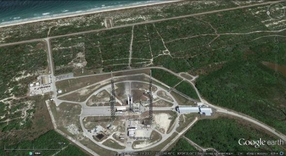 Строительство пускового комплекса для ракетоносителя sls корабля Ореон