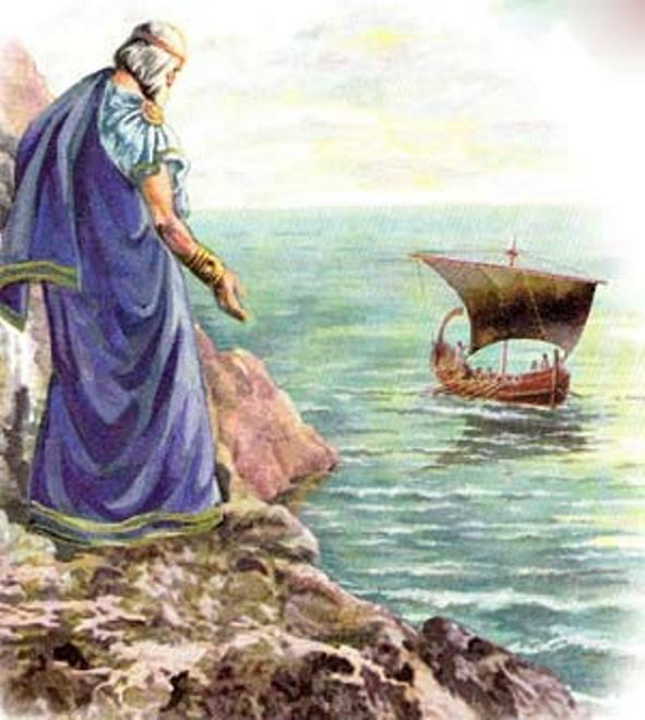 Черные паруса (Тесей возвращается домой)