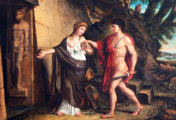 Тесей и Ареадна