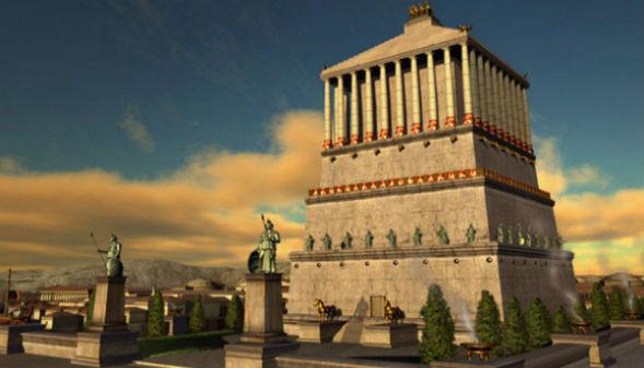 Галикарнасский мавзолей Мавсола