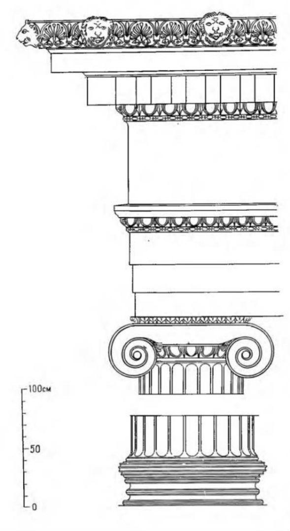 Реконструкция ордера Галикарнасского мавзолея