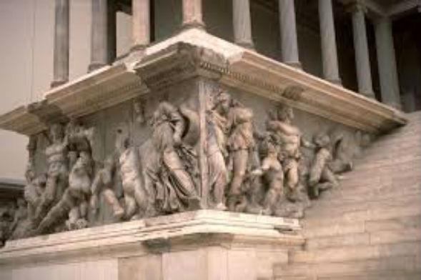 Восточный Фриз Галикарнасского мавзолея
