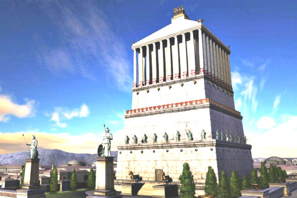 Чудо Света Галикарнасский Мавзолей