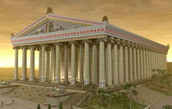 Чудо Света Храм Артемиды