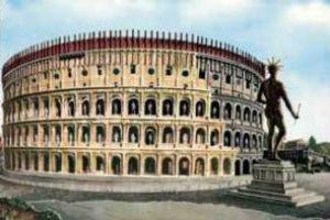 Архитектура колизея древнего Рима