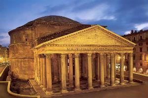 Архитектура Пантеона древнего Рима