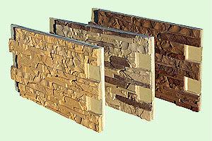 Фасад из полимерпесчаного камня