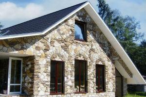 Облицовка домов камнем