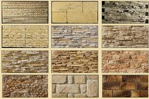 Виды облицовки фасада под камень