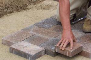 Виды укладки бетонной тротуарной плиткиплитки на различные основания