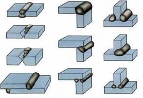 Виды сварных соединений и расшивки их кромок