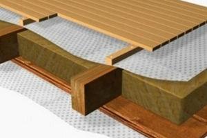 Виды и конструкция деревянного перекрытия