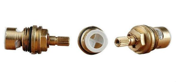 Керамический картридж кран-буксы двухвентильного смесителя