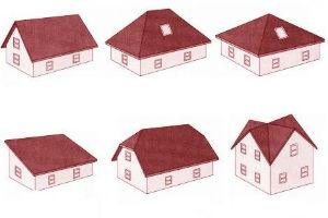 Основные виды скатных крыш и их особенности