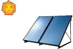 Устройство систем автономного отопления загородного дома с солнечными коллекторными батареями