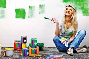 Виды традиционных красок